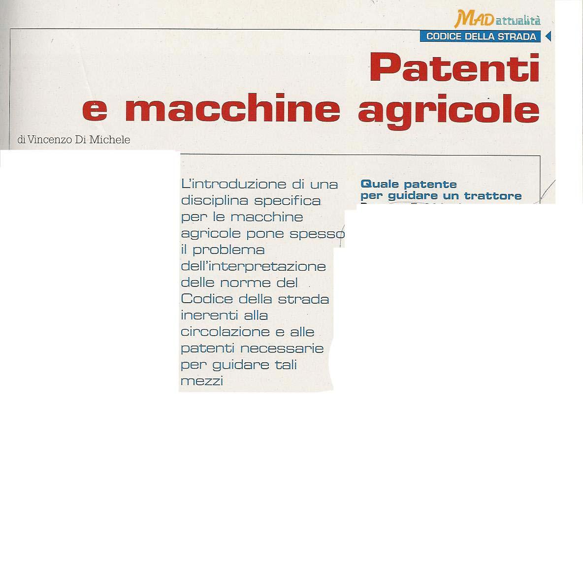 Mad (Macchine Agricole Domani)