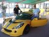Vincenzo Di michele con Marco Interrante , Direttore dei corsi di guida sicura e sportiva
