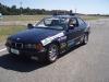 Vincenzo Di Michele alla guida della BMW al corso di guida sicura e sportiva