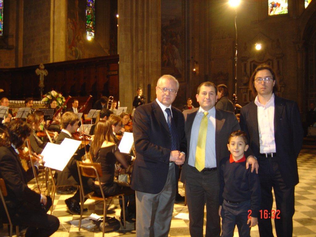 Concerto di Inizio anno 2010al Duomo di Arezzo