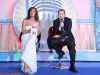 Vincenzo Di Michele al Festival Italia in musica con la presentatrice Paola Delli Carri