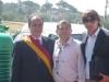 cerimonia-di-partenza-prima-sfilata-trattori-depoca-il-pres-del-xx-municipio-gianni-giacomini-il-cons-pasero-vincenzo-di-michele-e-diego-righini