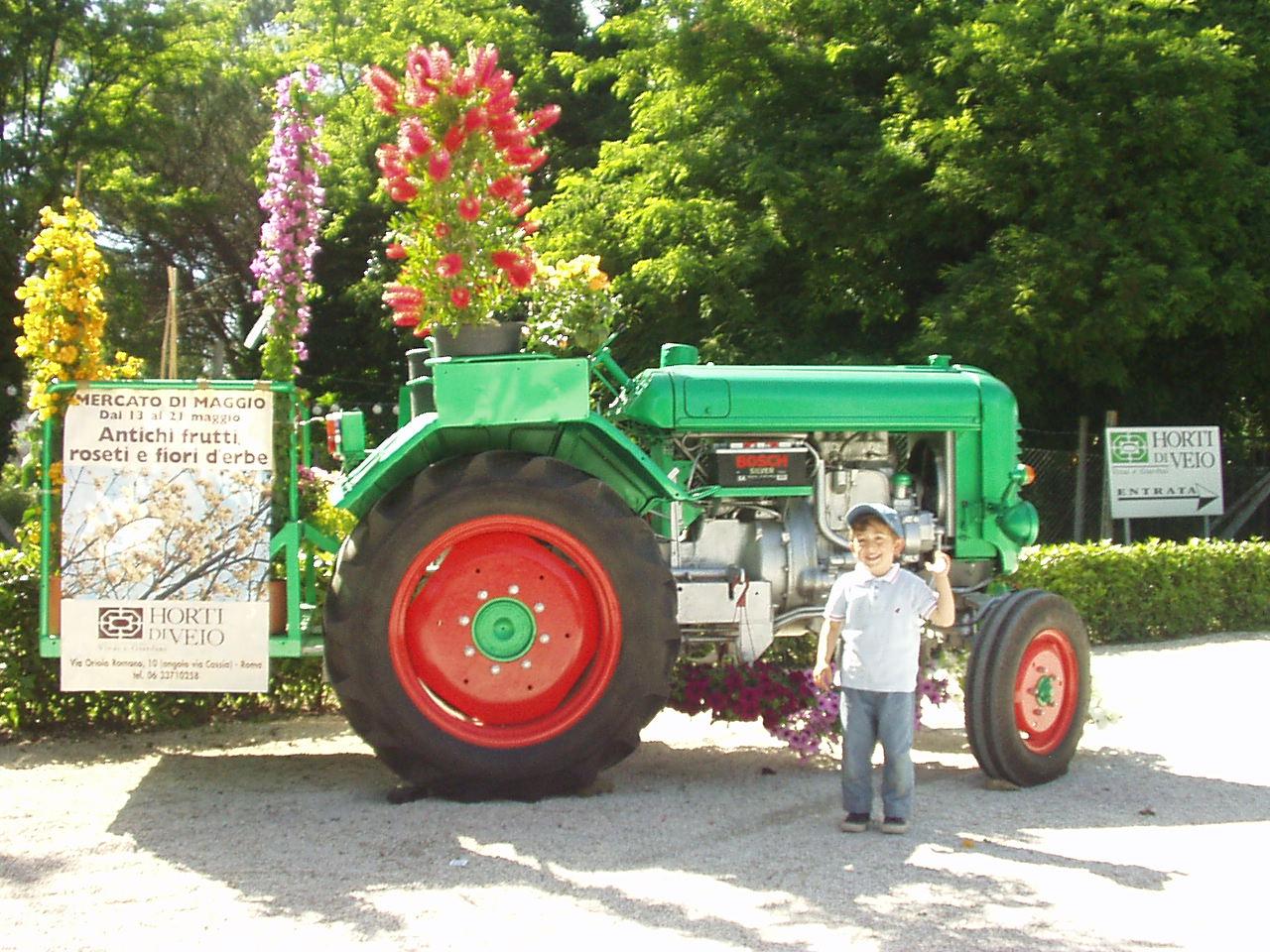 Vincenzo Di Michele - Sfilata storica dei trattori