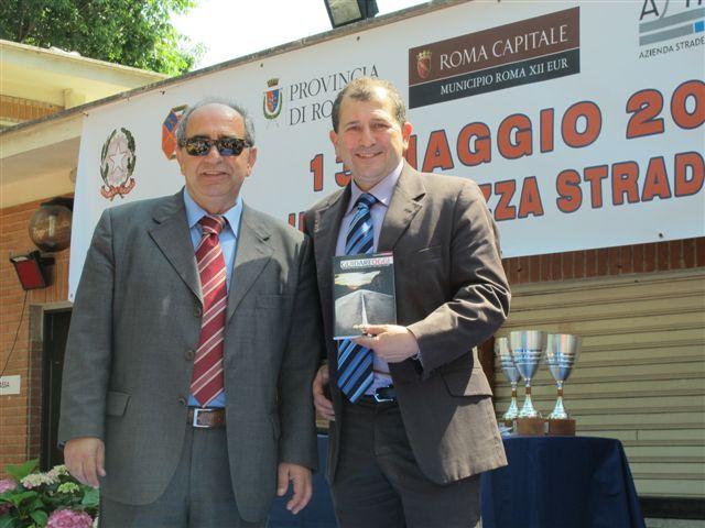 Vincenzo Di Michele con Antonio Fedele Direzione Rete Total Erg