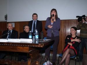 Da Sinistra : Francesco Pionati, Paolo Tuffi, Vincenzo Di Michele, Renata Polverini, Laura Santarelli