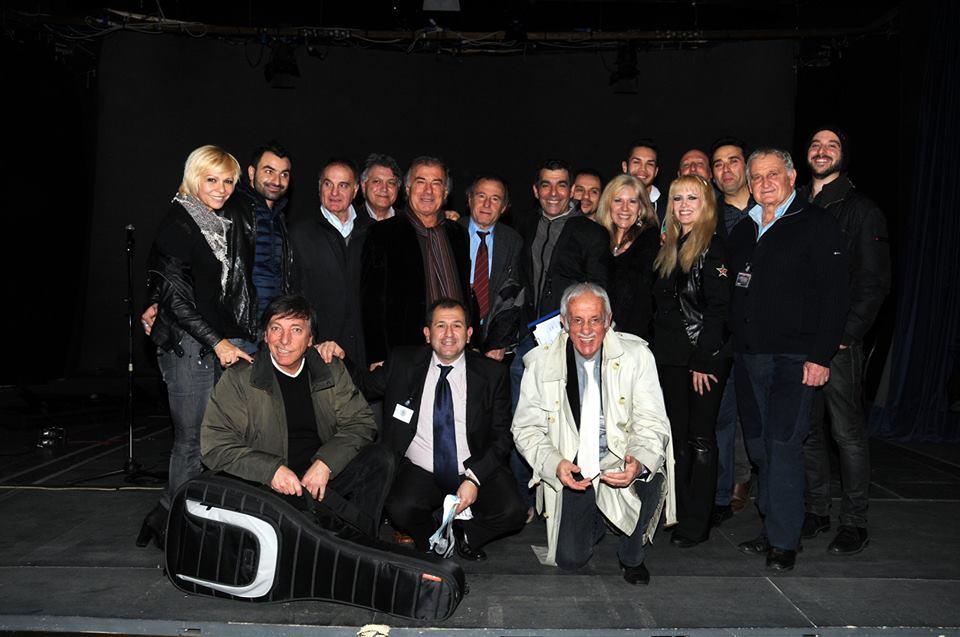 La presentazione ufficiale del II torneo di calciotto dei detenuti del Carcere di Rebibbia alla presenza di personaggi dello spettacolo, cultura e sport